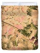 Pink Peonies - Kimono Series Duvet Cover