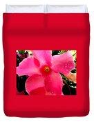 Pink Pinwheel Duvet Cover