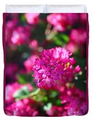Pink Profusion 2 Duvet Cover
