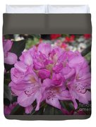 Soft Purple Rhododendron  Duvet Cover