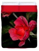 Pink Rose 2 Duvet Cover