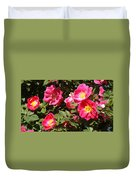 Pink Rose Of Sharon Blooms      Spring     Indiana Duvet Cover