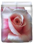 Pink Rose Painting Duvet Cover