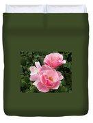 Pink Roses 2 Duvet Cover
