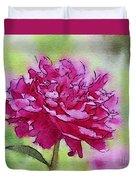 Pink Ruffles Duvet Cover