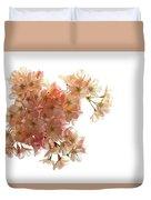 Pink Sakura Duvet Cover