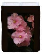 Pink Slippers Duvet Cover