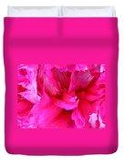 Pink Splash Duvet Cover by Kristin Elmquist