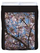 Pink Spring Blossoms Duvet Cover