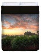 Pink Sunrise Duvet Cover