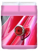 Pink Tail Duvet Cover