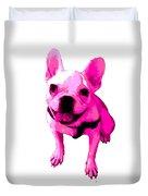 Pink Terrier Duvet Cover