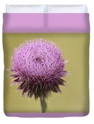 Pink Thistle Duvet Cover
