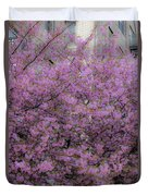 Pink Tree Duvet Cover