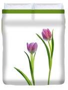 Pink Tulips 4 Duvet Cover