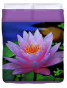 Pink Water Lily 007 Duvet Cover