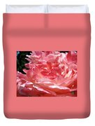 Pink White Roses Floral Art Prints Rose Baslee Troutman Duvet Cover