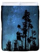 Pinnacle Of The Forest  Duvet Cover