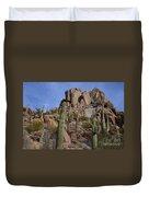 Pinnacle Peak Landscape Duvet Cover