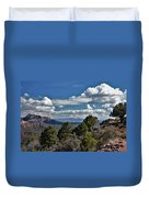 Pinon Forest At The Top Of Kolob Canyon Duvet Cover