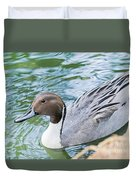 Pintail Portrait Duvet Cover