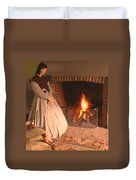 Pioneer Fire Impressions Duvet Cover