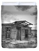 Pioneer Home - Nevada City Ghost Town Duvet Cover