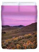 Pioneer Mountain Spring Duvet Cover