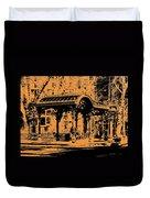 Pioneer Square Pergola Duvet Cover