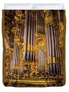 Pipe Organ Detail Duvet Cover