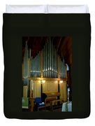 Pipe Organ Of Old Duvet Cover