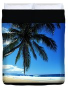 Pipeline Beach Duvet Cover