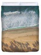 Pipeline Palms Duvet Cover