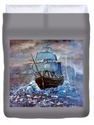 Pirate Ship 1 Duvet Cover