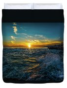 Pirate Tower Duvet Cover