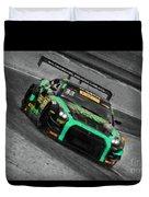 Pirelli World Challenge Jd Davison Nissan Gt R Gt3 Duvet Cover