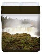 Pisew Falls Northern Manitoba Canada Duvet Cover