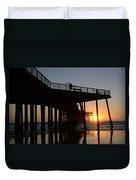 Pismo Beach Pier California 2 Duvet Cover