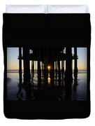 Pismo Beach Pier California 7 Duvet Cover