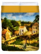 Pissaro L,hermitage Duvet Cover