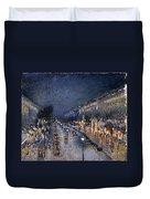 Pissarro: Paris At Night Duvet Cover