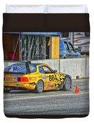 Pist 'n Broken Racing Duvet Cover