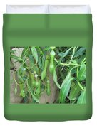 Pitcher Plant Madness Duvet Cover
