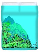 Pitons Duvet Cover