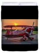 Pitts Sunset Duvet Cover