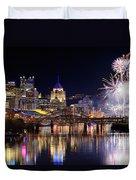 Pittsburgh 1  Duvet Cover by Emmanuel Panagiotakis