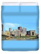 Pittsburgh Panorama June 2017 Duvet Cover