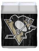 Pittsburgh Penguins Barn Door Duvet Cover