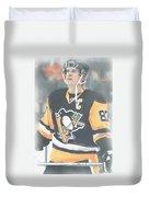 Pittsburgh Penguins Sidney Crosby 3 Duvet Cover