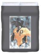 Pittsburgh Pirates Andrew Mccutchen Duvet Cover